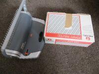 Binding Machine 310 Sheets Paper Comb Punch Binder & Binder Spines