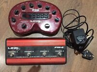 Line 6 POD with Foot Pedal Controller & power supply Guitar FX