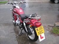 lexmoto arizona 125 motor bike in excellent condition