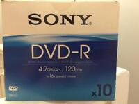 Sony DVD-R 4.7GB (46 Discs)