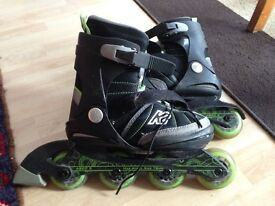 kids roller blades, K2, Eddy Junior, UK 3-7