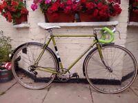 Vintage Carlton Reynolds Racing bike