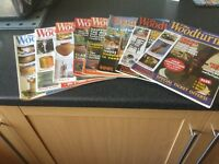 Wood Turner and Good Woodworking magazines.
