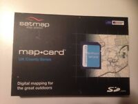 BRAND NEW UNOPENED Satmap Map Card 1:50,000 Northumberland 1:50k