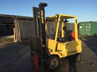 1.75t Hyster Forklift to buy or hire. Contact us for other machines also, lots in stock!
