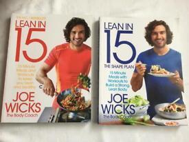 2 x joe wicks body coach books