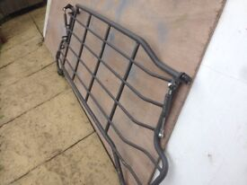 Volvo v70 rear load cover and metal folding dog guard