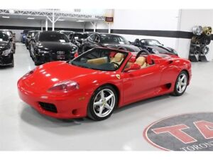 2001 Ferrari 360 Spider CLEAN CARPROOF | 400 HORSEPOWER