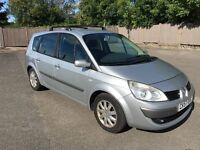 GRAND SCENIC DYNAMIQUE 1.5DCi*DIESEL* 07-57 84K FSH BRAND NEW MOT EX CONDITION P/EX POSS ONLY £1999