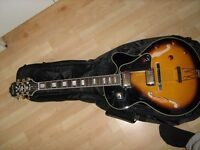 Epiphone Joe Pass Emperor II Semi-Acoustic Guitar (vintage sunburst)