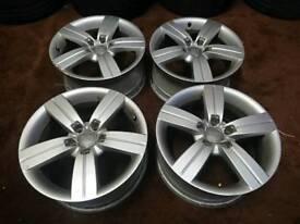 "Genuine OEM Audi TT 17"" 5X112 alloy wheels Audi Seat Skoda VW"