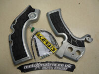 New Acerbis Frame Cover X-Grip KXF 450 12-15 Guards Silver