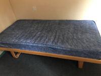 Single Bed (Base & Mattress) - Lightly Used