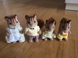 Sylvanian squirell family