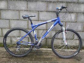 blue bike GT 26''