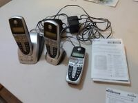 Binatone MA 760 Dual Cordless phones, with answerphone and speakerphone features