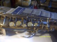 SOPRANO SAXOPHONE by ROBERT MARTEL .Ser No B 6481 . ORSI , MALERNE or RAMPONE ?? ?Not Sure