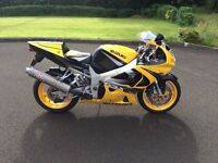 Suzuki GSXR 750. Fantastic condition and loads of extras only 15K mls, has to be seen.