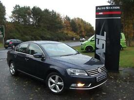 VOLKSWAGEN PASSAT 2.0 TDI Bluemotion Tech SE 4dr (blue) 2012