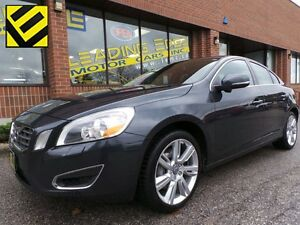 2012 Volvo S60 T5 Level 2 with navi, leather sunroof and more!