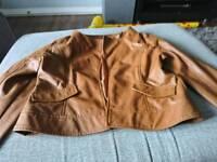 Size 14 ladies tan jacket