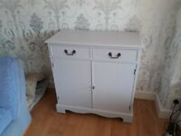 Sideboard / cabinet, solid yew