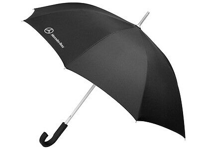 Genuine Mercedes-Benz Black Logo Umbrella B66952629 NEW