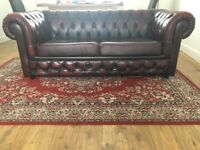 Leather Chesterfield Sofa Bed
