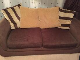 Matching 3 & 4 seater sofas - REDUCED PRICE