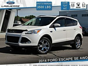 2014 Ford Escape SE**AWD*CUIR*TOIT* NAVI*CAMERA*A/C 2 ZONES**
