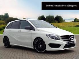 Mercedes-Benz B Class B 180 D AMG LINE PREMIUM (white) 2017-05-15