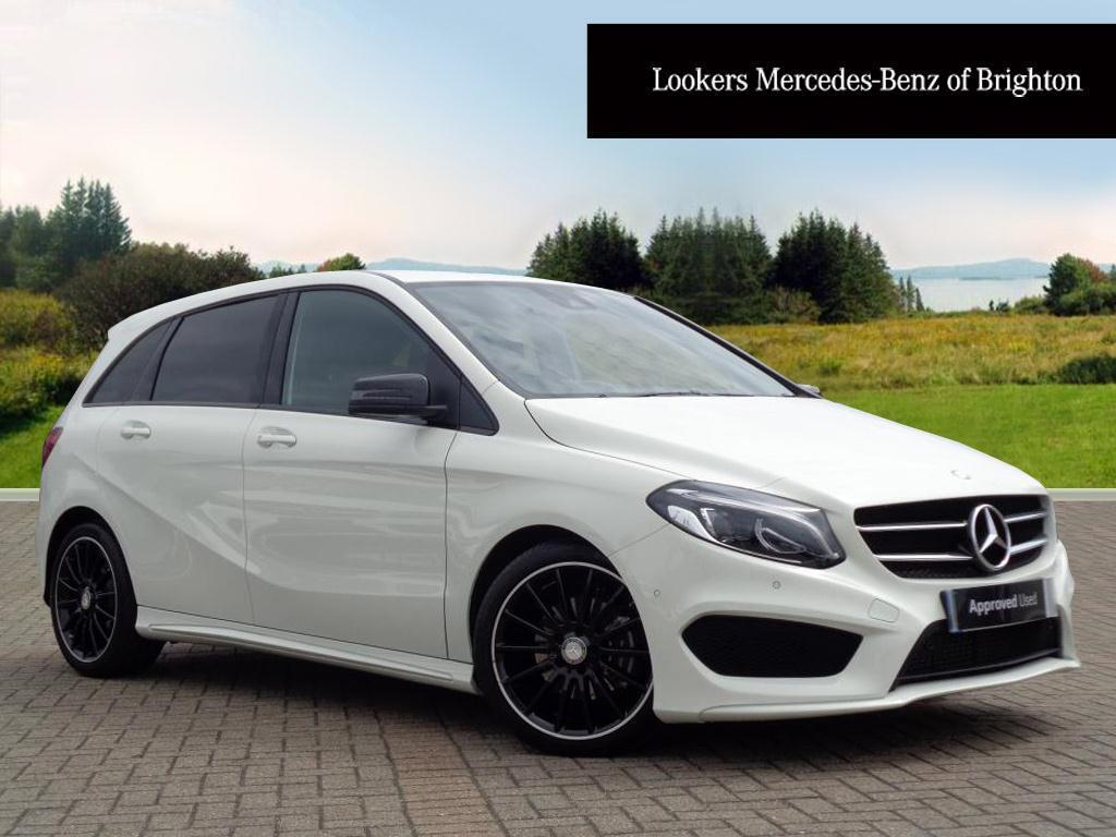 mercedes benz b class b 180 d amg line premium white 2017 05 15 in portslade east sussex. Black Bedroom Furniture Sets. Home Design Ideas