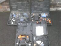 CORDLESS AND ELETRIC POWER TOOLS £20 TO £40
