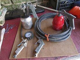 Spraygun accessories