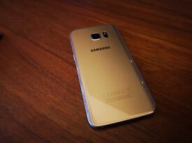 Samsung Galaxy S7 Edge 32GB (Gold), excellent condition