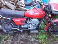 Moto Guzzi T3 combination with Watsonian sidecar