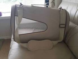 Cat carrier and small cat or dog collars for sale