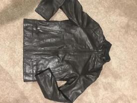 REISS Leather jacket (menswear)