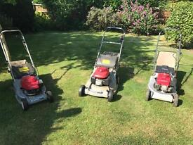 Three Honda Lawnmowers spares or repairs