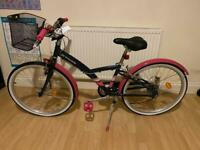 "BTWIN 24"" girls bike"