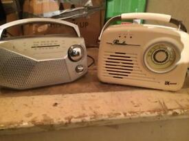 Two radios SOLD