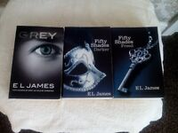FIFTY SHADES OF GREY TRILOGY FOR SALE
