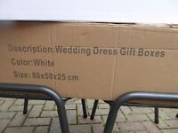 Storage Box for Wedding Dress or Gift