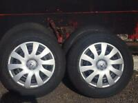 4 Vauxhall vivaro wheels, tyres and trims
