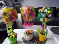 Easter tree handmade