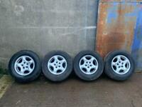 Land Rover Discovery 2 Wheels & Tyres