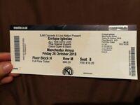 Spare ticket to Enrique Iglesias concert Manchester
