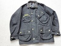 BARBOUR INTERNATIONAL WAXED JACKET SIZE C36/91CM
