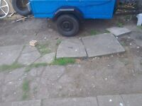 A handy car trailer inderpendent surspention good tyres