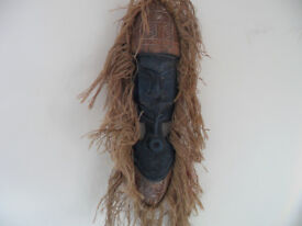 Old African Mask - wood